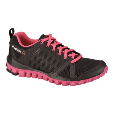 Reebok realflex red and black