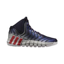 adidas Men's Adipure Crazy Quick 2.0 Basketball Shoes - Navy/Silver/Red