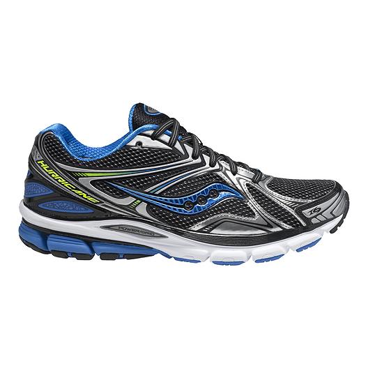 1d687b2ecd2b Saucony Men s PowerGrid Hurricane 16 Running Shoes - Silver Blue Green