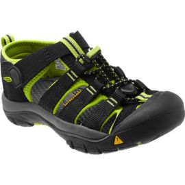 Keen Kids' Newport H2 Sandals - Black/Lime
