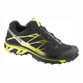 Salomon Men's XT Wings 3 Trail Running Shoes - Black/Yellow