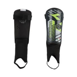 Diadora Fulmine Shin Guards - Black/Yellow