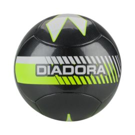 Diadora Fulmine Size 3 Soccer Ball - Grey/Yellow