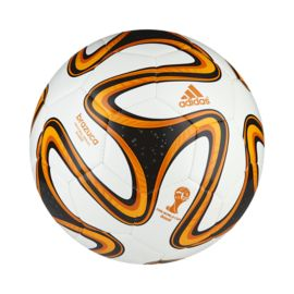 adidas Bracuza World Cup 2014 Glider Size 4 White/Orange