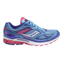 Saucony Women's PowerGrid Guide 7 Running Shoes - Blue/Purple/Pink