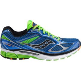Saucony Men's PowerGrid Guide 7 Running Shoes - Blue/Green/Black