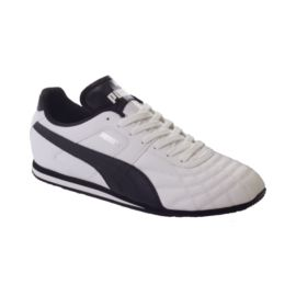 PUMA Men's Mexico Casual Shoes - White/Black