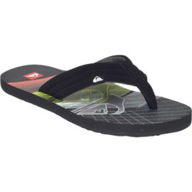 Quiksilver Men's Foundation 2 Sandals - Black/Red