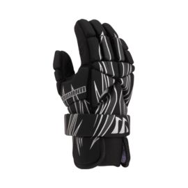 "Warrior 7"" Lacrosse Gloves - Black/Grey"