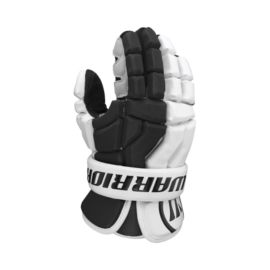 "Warrior Hundy 12"" Lacrosse Gloves - Black/White"