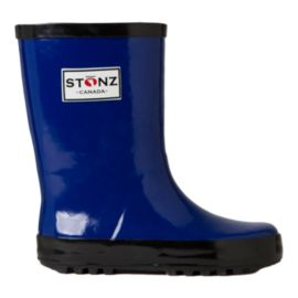 Stonz Kids' Rain Boots - Blue/Black