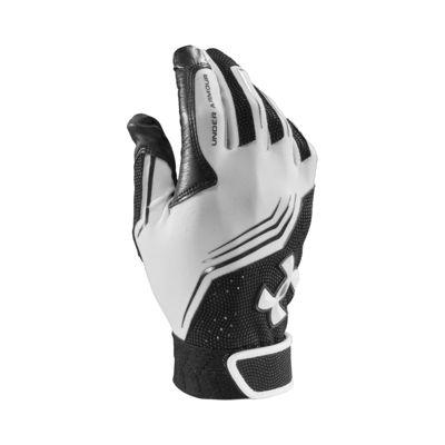 Under Armour Clean Up Batting Gloves Men's - White/Black