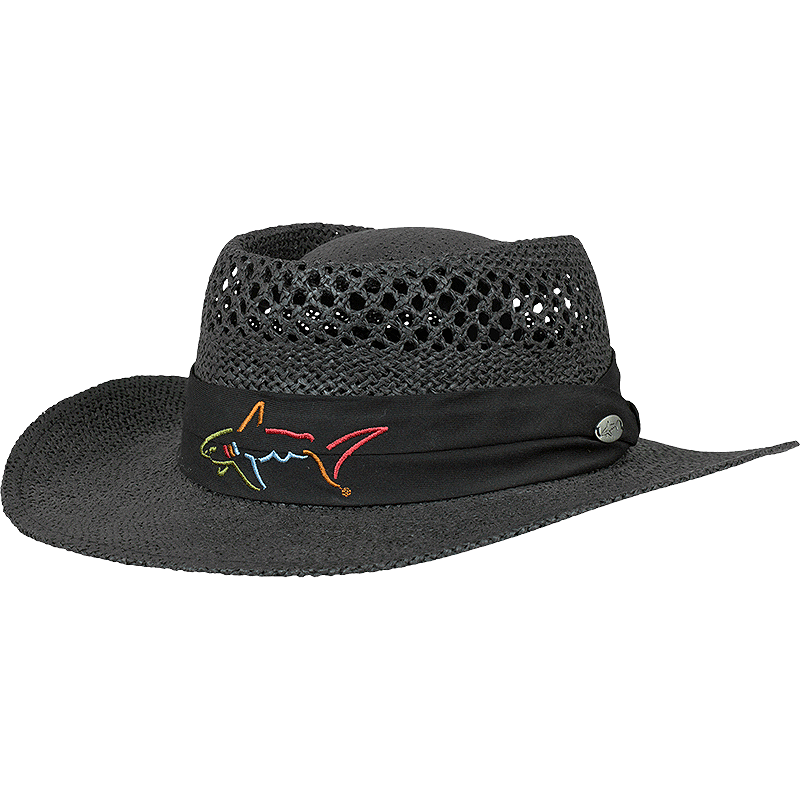 Greg Norman Banded Men s Straw Hat  ae361395075c
