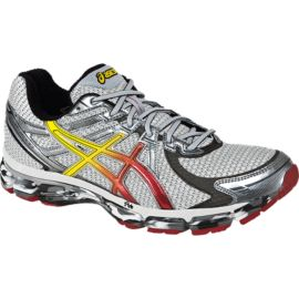 ASICS Men's GT 2000 Running Shoes - Silver/Yellow
