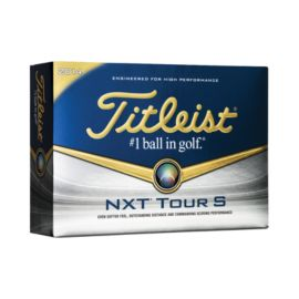 Prior Generation Titleist NXT Tour S Golf Balls - 12 Pack