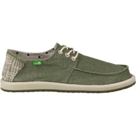 Sanuk Men's Drewby Fade Casual Shoes - Olive Green/Tan