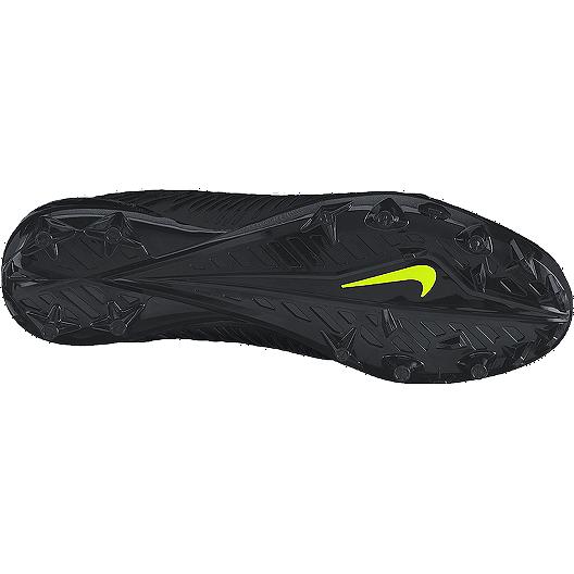 on sale 514b6 e0d3d Nike Men s Vapor Strike 4 TD Low Football Cleats - Black White