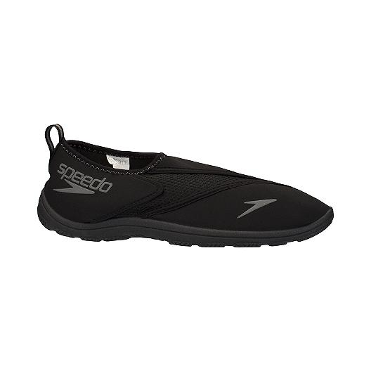 c175babc55e5 Speedo Men s Surfwalker Pro 2.0 Sandals - Grey Black