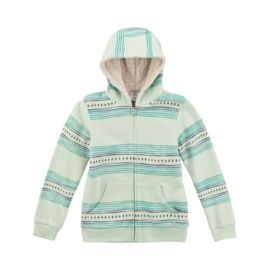 Firefly Girls' Megan Sherpa Full Zip Hoodie
