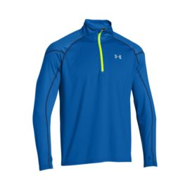 Under Armour ColdGear® Infrared Chrome Run 1/2 Zip Men's Long Sleeve Top
