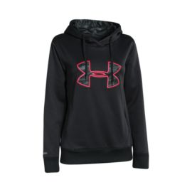 Under Armour Big Logo Applique Women's Hoody - Black