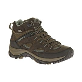 Merrell Women's Salida Treckker Mid Waterproof Lite-Hiking Shoes - Brown/Blue