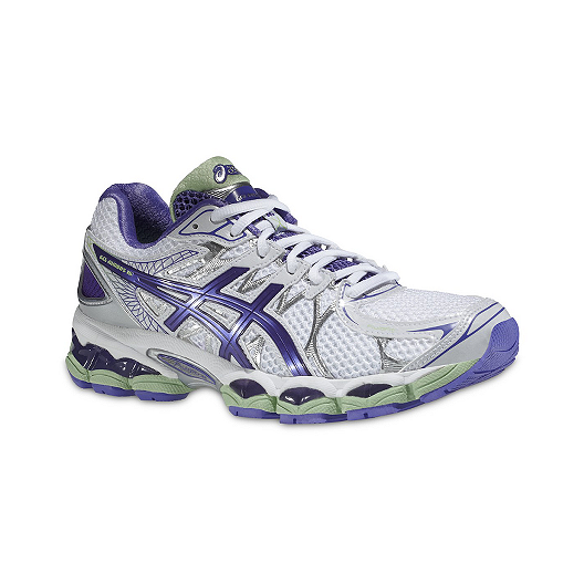 save off b8d21 4d82a ASICS Women s Gel Nimbus 16 Running Shoes - White Purple Mint   Sport Chek