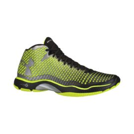 Under Armour Men's Highlight Clutch Training Shoes - Black/Lime Green/Silver