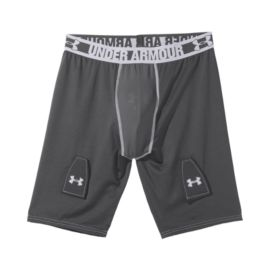Under Armour Men's Hockey Grippy Compression Shorts with Cup