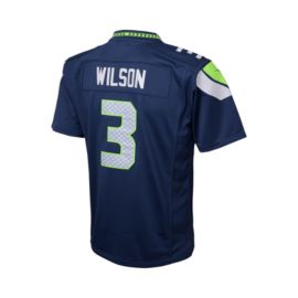 Seattle Seahawks Russell Wilson Kids' Home Youth Football Jersey