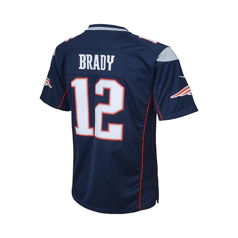 best cheap ac7b4 d39cf Nike New England Patriots Tom Brady Youth Football Jersey ...