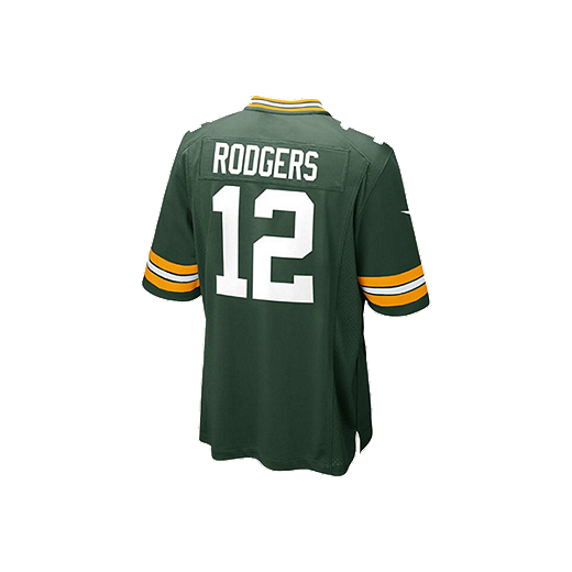 promo code 652bf 88102 Green Bay Packers Aaron Rodgers Kids' Home Youth Football Jersey