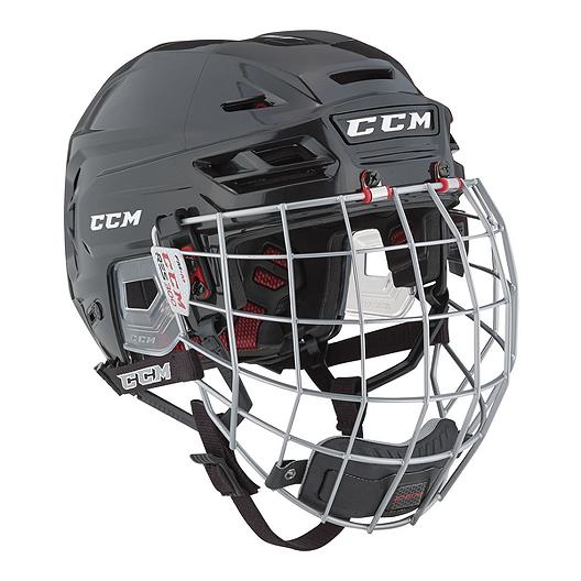6a527cc6ebc CCM Resistance 300 Senior Hockey Helmet Combo