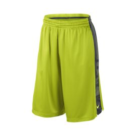 Nike Elite Stripe Men's Basketball Shorts - Green