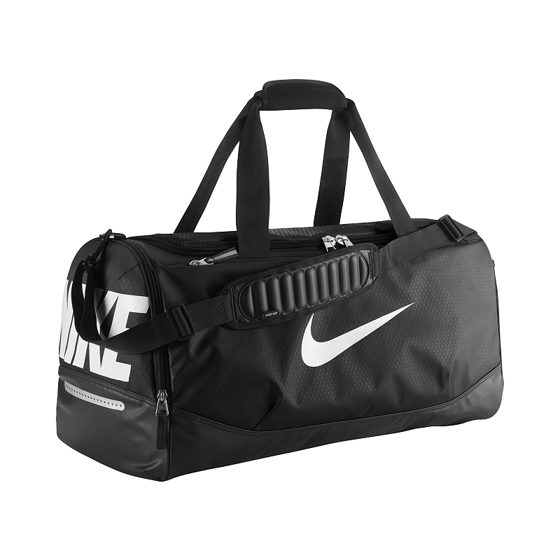 4e4ebad550 Nike Team Training Max Air (Medium) Duffel Bag - Black