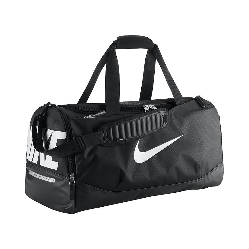 4e4ebad550 Nike Team Training Max Air (Medium) Duffel Bag - Black