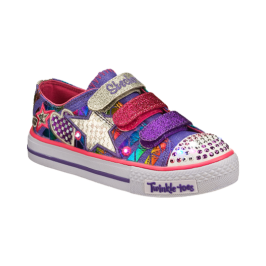 403e848429b2 Skechers Twinkle Toes Classy Sassy Girls  Casual Shoes