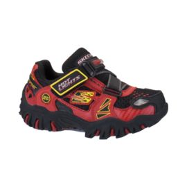 Skechers Toddler Damager Fire Truck Athletic Shoes - Red/Black