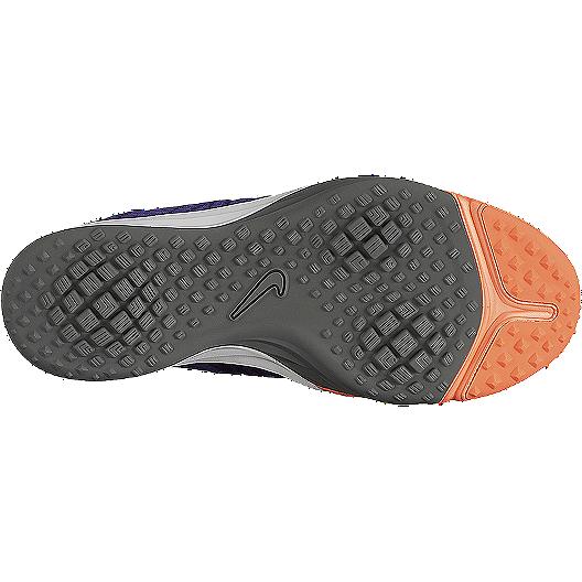 6b6183e6f4b9 Nike Women s Lunar Cross Element Training Shoes - Purple Orange Grey ...