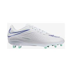 Nike Women s HyperVenom Phelon FG Outdoor Soccer Cleats - White Blue Mint  Green  f79c0abbd