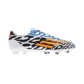 adidas Men's F30 TRX FG WC Outdoor Soccer Cleats - White/Black/Orange