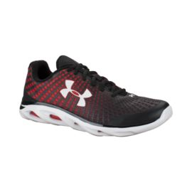 Under Armour Men's Spine Clutch Running Shoes - Black/Red/White