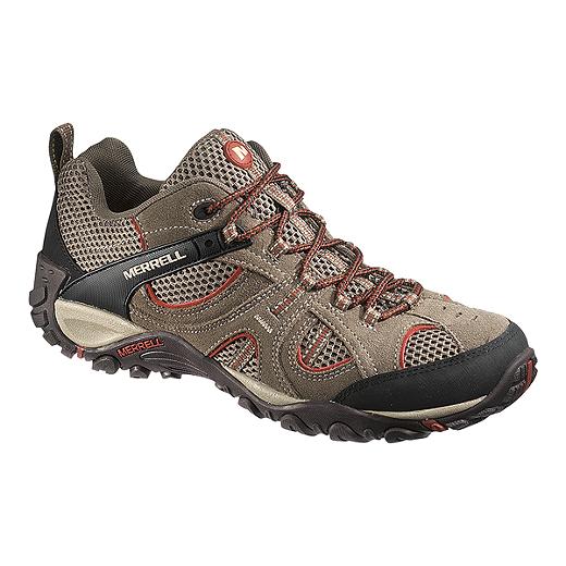 b6b7baa9ec8f4 Merrell Men's Yokota Trail Vent Bungee Hiking Boots - Light Brown ...