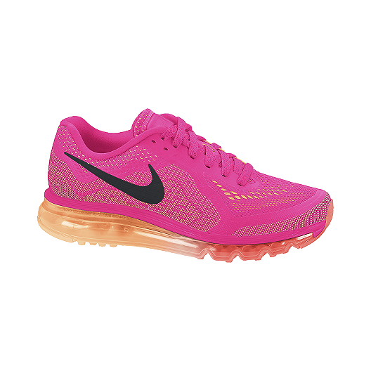 lowest price 676b1 86f3a Nike Air Max 2014 Women's Running Shoes - Pink / Black / Orange | Sport Chek