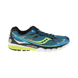 Saucony Men's PowerGrid Ride 7 Running Shoes - Blue/Black/Lime Green