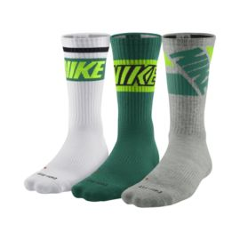 Nike Dri-FIT™ Fly Rise Men's Crew Socks - 3 Pair Pack