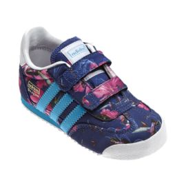 adidas Dragon CF Girls' Toddler Casual Shoes