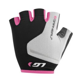 Louis Garneau Womens Flare Gloves - White/Pink