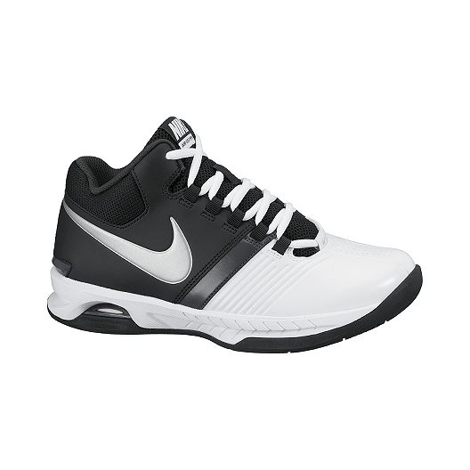 44a3bed6b5f2 Nike Women s Air Visi Pro 5 Basketball Shoes - White Blue