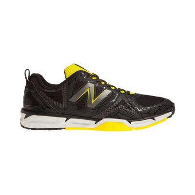 New Balance Men\u0027s 797v3 2E Wide Width Training Shoes - Black/Yellow
